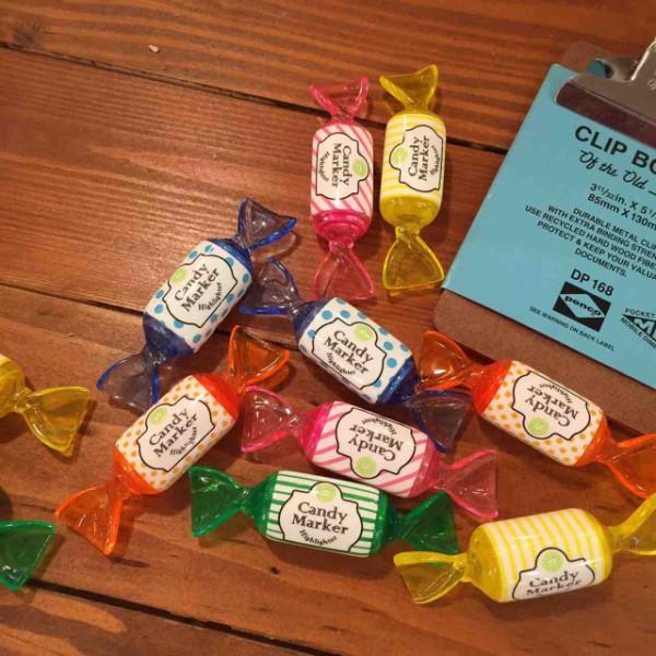 ペンケースやデスクにちょこんとあったら可愛い♡楽しいキャンディー ...