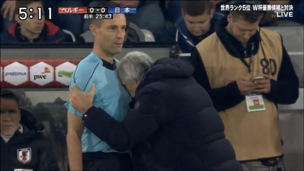 【 日本代表×ベルギー 】前半終了!両チーム得点なく・・・0-0で折り返す!