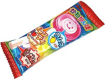 【画像】かわりんぼっていう情報量の多い駄菓子がこれwwww