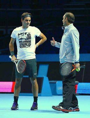 フェデラーがポール・アナコーンとコーチ契約を解消 : テニスのある日々