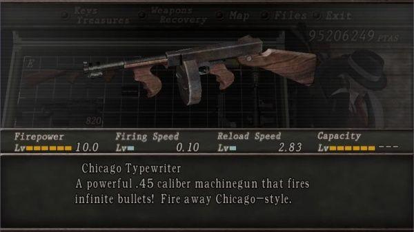 バイオ ハザード 4 武器