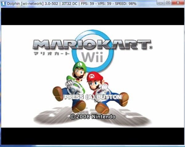 PCでwii、GCゲームをプレイ出来るエミュ「Dolphin Git 3 5-1208