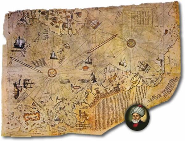 Piri-Reis-Antarctica-map
