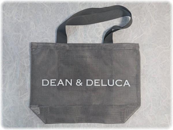 Dean Deluca 数量限定 メッシュトートバッグ シルバー を店頭で発見 sava