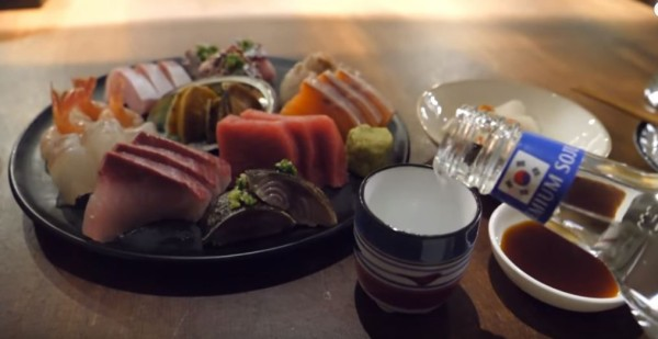 海外「新鮮な刺身が美味しそう!」韓国の居酒屋で出される刺身の美しさをご覧ください 海外の反応