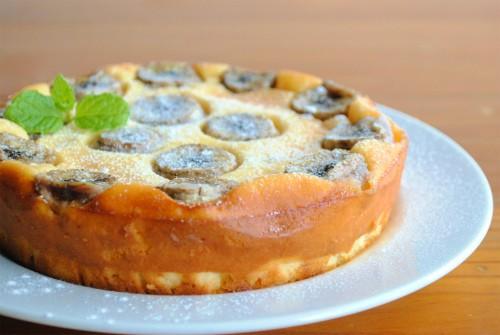 ヨーグルト バナナ チーズ ケーキ