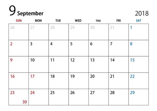 カレンダー 新台