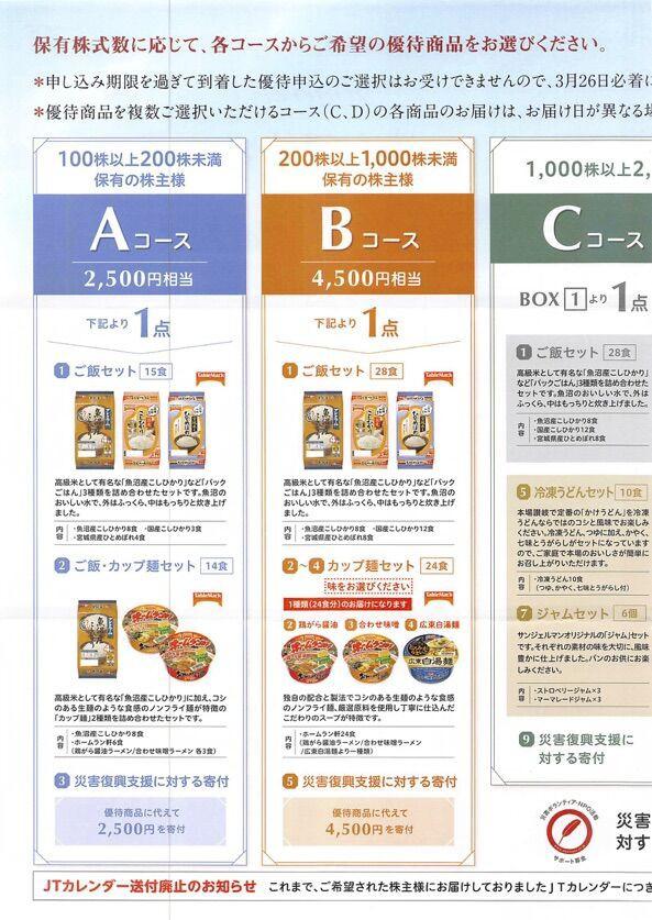 日本たばこ産業 (2914)