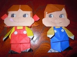 キャラクター 折り紙 折り紙のキャラクターの折り方まとめ!簡単な折り方をまとめてみた