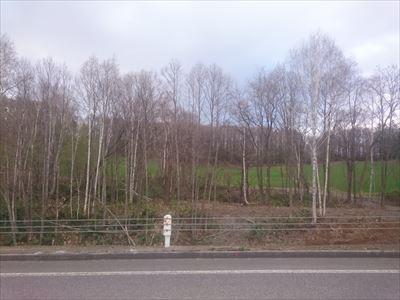 道央自動車道建設状況-多寄IC付近- : 旅鴉 北海道179市町村をゆく