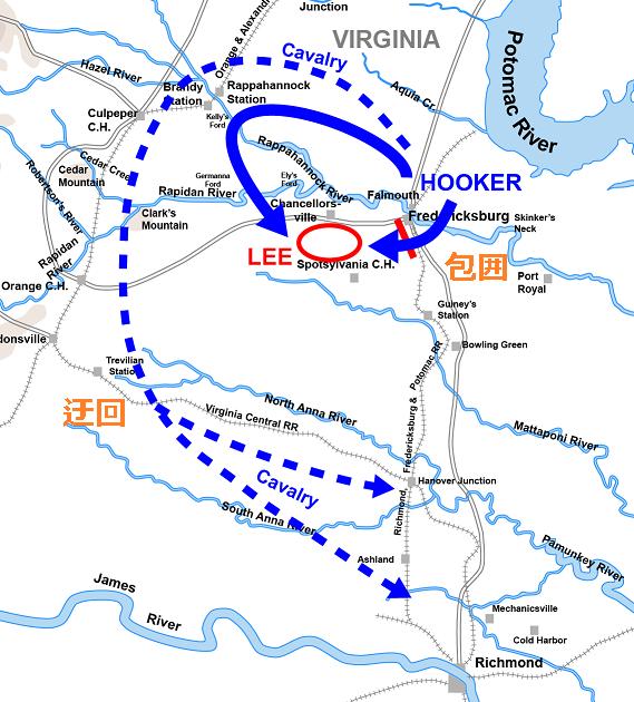 軍隊の動き方-④ 迂回攻撃(Maneuver.4_Turning Movement) : 戦史の探求