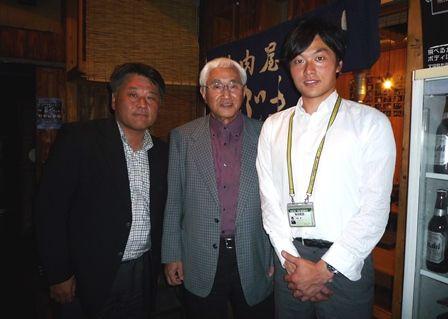 元阪神タイガーズ監督 安藤統男さん、MBS 赤木誠アナウンサー、金山 ...