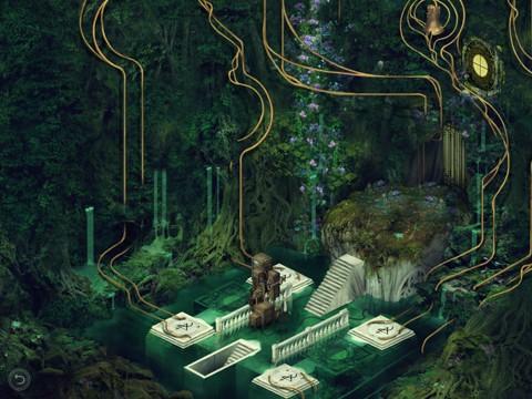 壮大な廃墟アートで孤独に酔うアドベンチャー『PAVILION MOBILE』 : ゲームキャスト iPhone