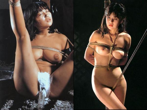 森田水絵緊縛画像 番外編:巨乳緊縛 (12) : 縛られた女性有名人たち