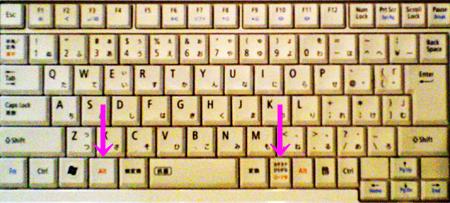 入力 キーボード ローマ字