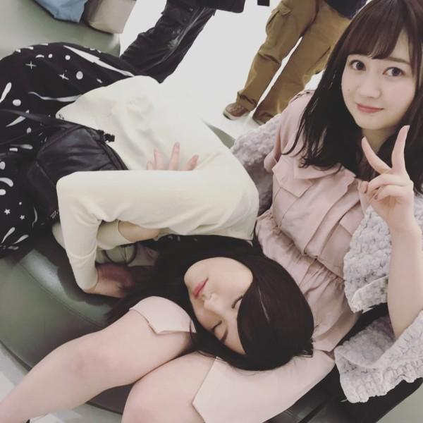 """松井珠理奈が""""えごまくら""""でリラックス!"""
