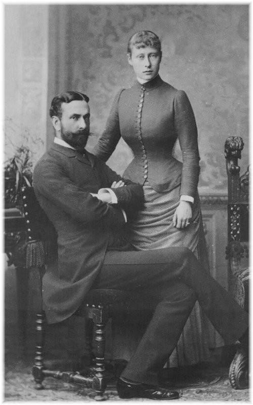 ジョージ5世のイトコ/ヴィクトリア女王の孫 その2 : 直球感想文 洋館
