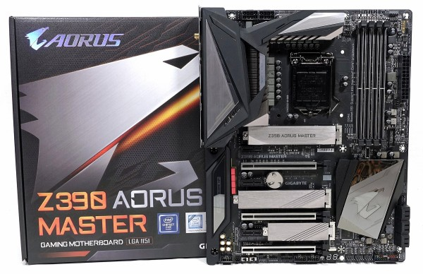GIGABYTE Z390 AORUS MASTER」をレビュー。Core i9 9900Kの全