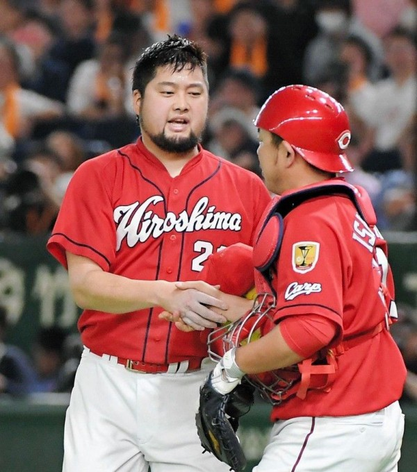 中崎翔太 7試合5S 防5.14 セーブ成功率100%