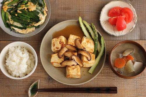 豆腐ステーキに合う副菜