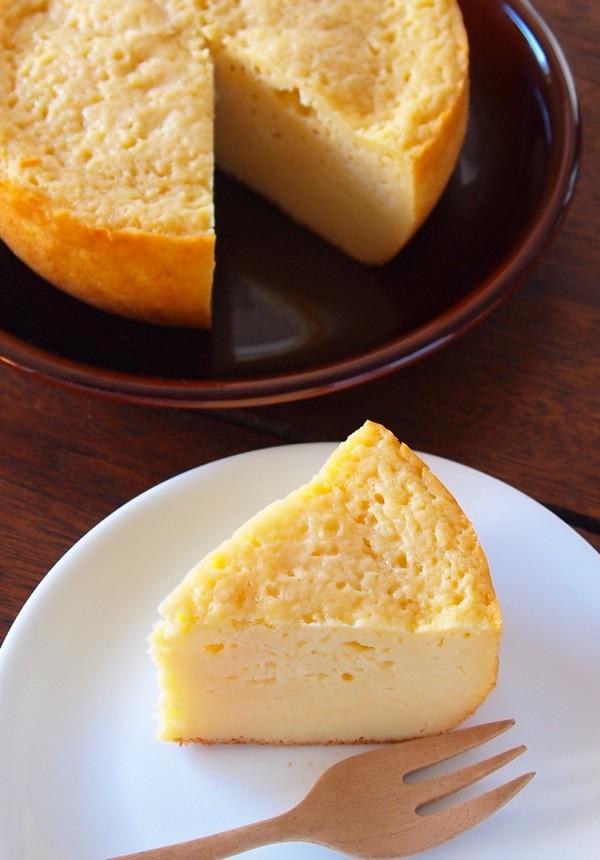 シフォンケーキ ホットケーキミックス 炊飯器