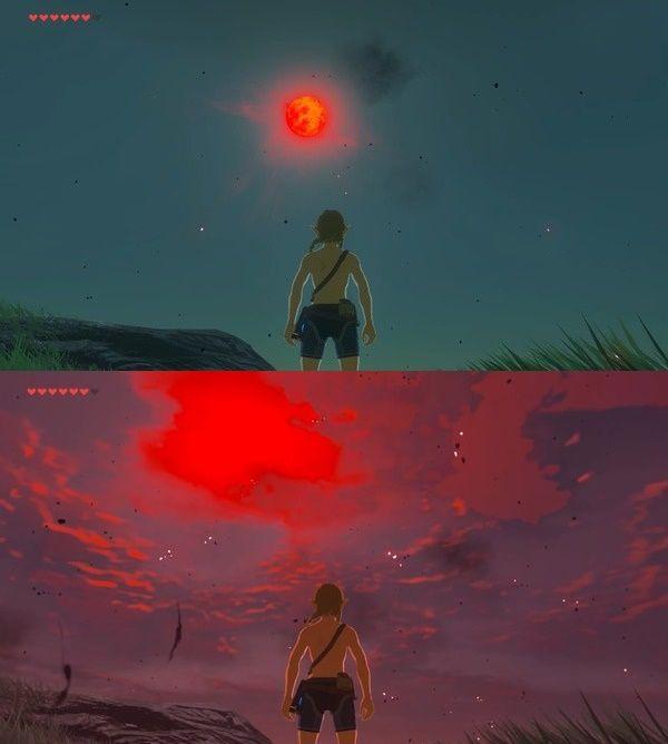 ゼルダ の 伝説 ブレス オブザ ワイルド 赤い 月