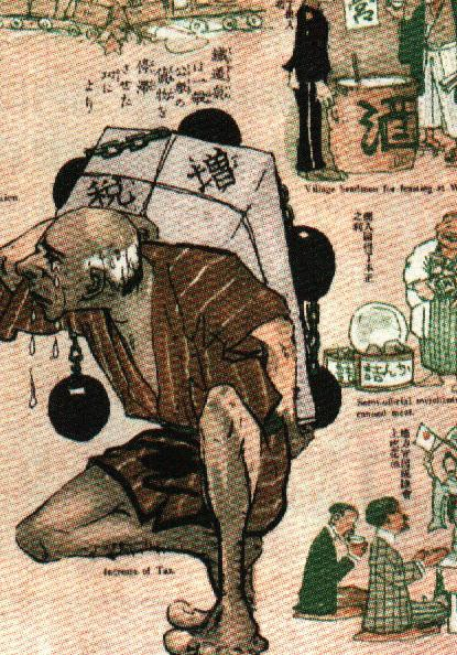 日 露 戦争 風刺 画