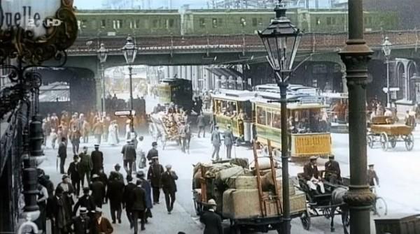 1900年のドイツのカラー映像に世界が驚き! 海外の反応。 : 海外反応 ...
